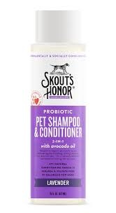 Skout's Honor Skout's Honor Grooming Shampoo Plus Condtioner 16 oz Lavender Product Image