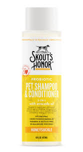 Skout's Honor Skout's Honor Grooming Shampoo Plus Conditioner 16 oz Honeysuckle Product Image