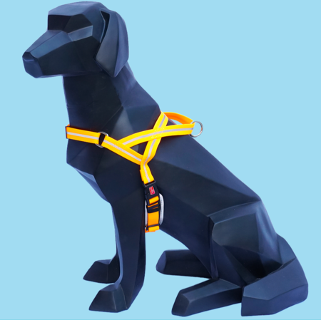WIGZI Wigzi Reflective Harness Orange Large Product Image