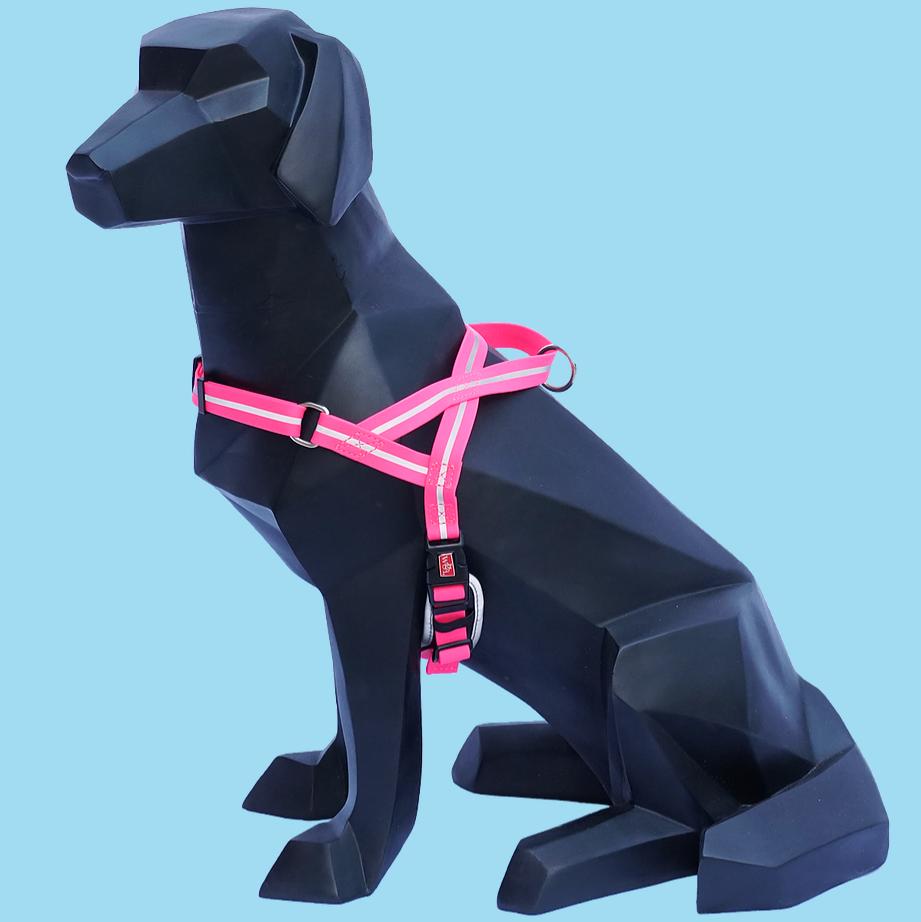 WIGZI Wigzi Reflective Harness Pink Small Product Image