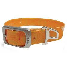 Kurgo Kurgo Muck Collar Small Crop Circles Orange Product Image