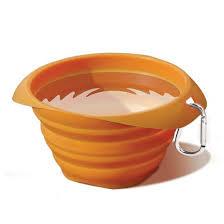 Kurgo Kurgo Collaps-A-Bowl Orange Product Image
