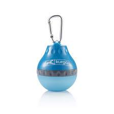 Kurgo Kurgo Palm Water Bottle Blue Product Image