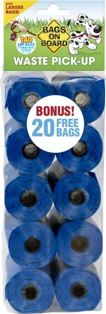 Bramton Bags on Board Pick Up Bags 140PC Product Image