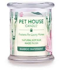 One Fur All Pets Pet House Candle Bamboo Watermint Product Image