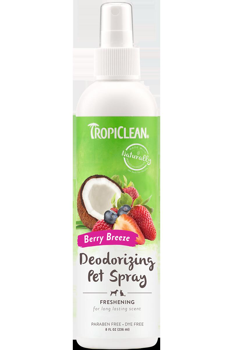 Tropiclean Tropiclean Deodorizing Spray Berry Breeze Freshening 8 oz Product Image
