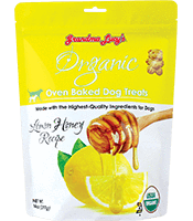 Grandma Lucy's Grandma Lucy's Dog Treats Organic Baked Lemon Honey 14 oz Product Image