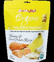 Grandma Lucy's Grandma Lucy's Dog Treats Organic Baked Banana & Sweet Potato 14 oz Product Image