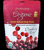 Grandma Lucy's Grandma Lucy's Dog Treats Organic Cranberry 14oz Product Image