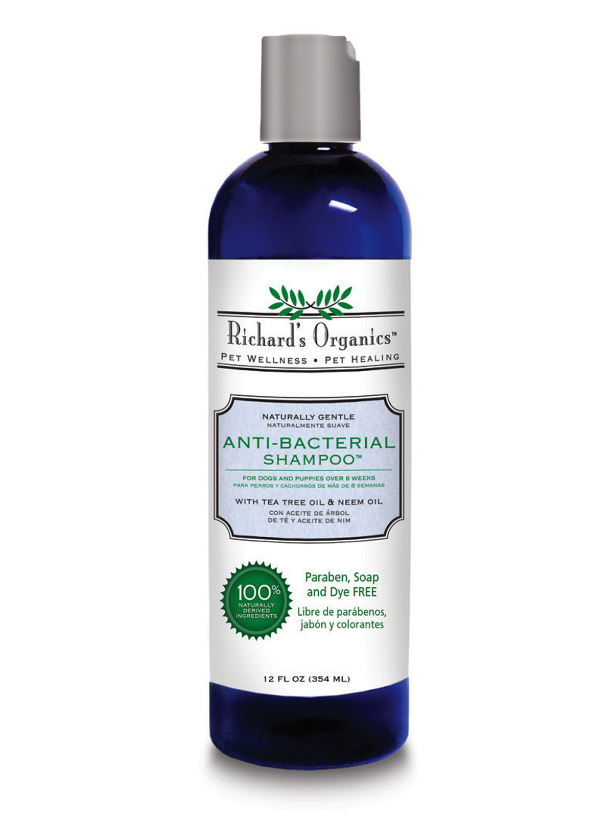 Synergy Labs Synergy Labs Richards Antibacterial Shampoo 12oz Product Image