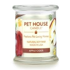 One Fur All Pets Pet House Candle Apple Cider Product Image