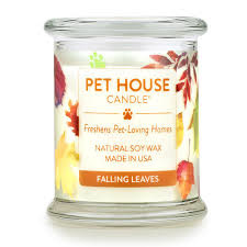 One Fur All Pets Pet House Candle Falling Leaves 8.5oz Product Image