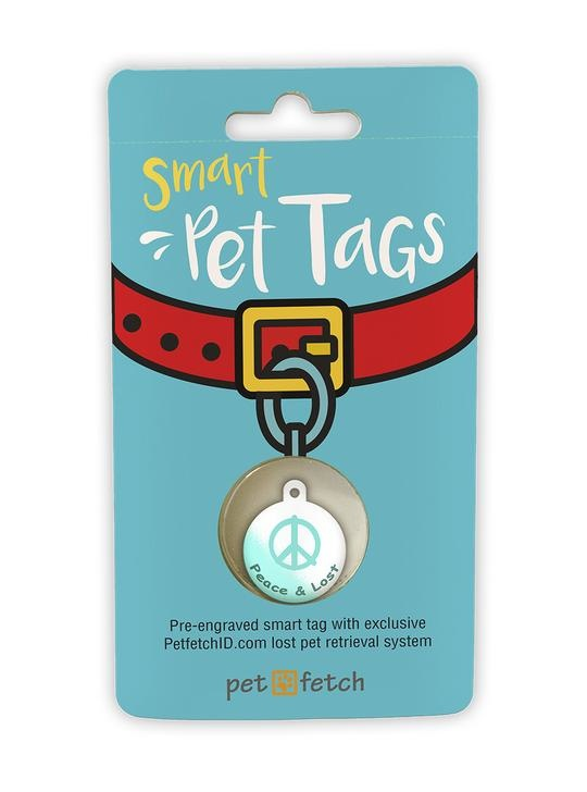 """KEYFETCH LLC Smart Pet Collars """"Peace and Lost"""" Product Image"""
