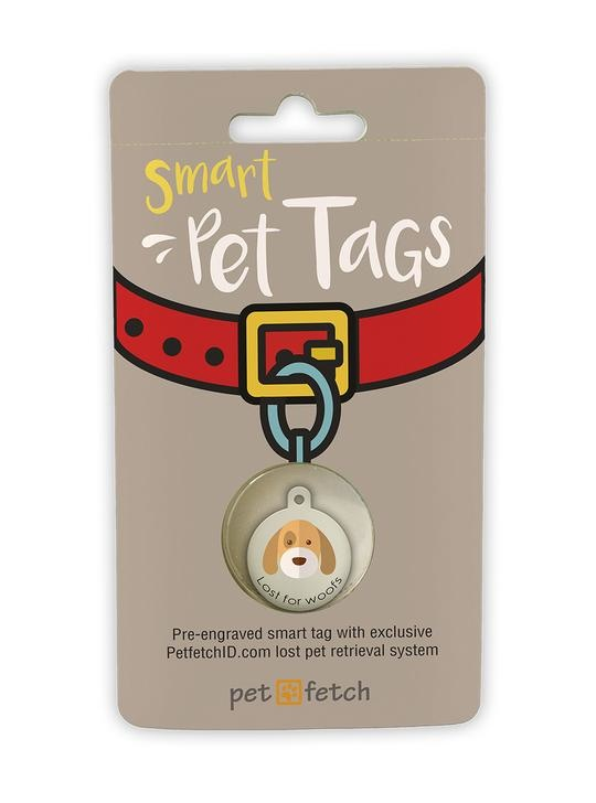 "KEYFETCH LLC Smart Pet Tags ""Lost for Woofs"" Product Image"