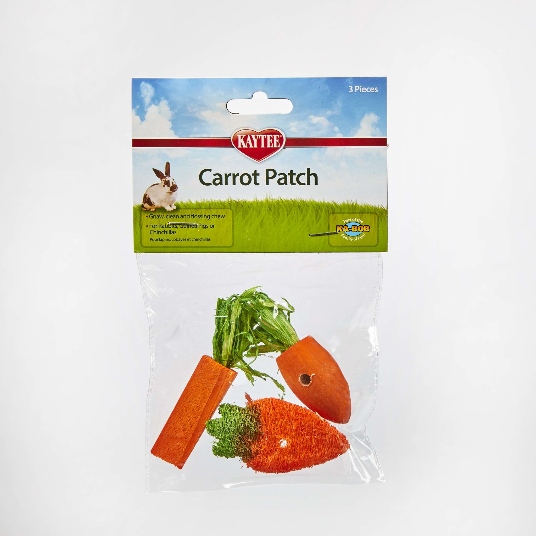 Super Pet Kaytee Carrot Chew 3 Count Product Image