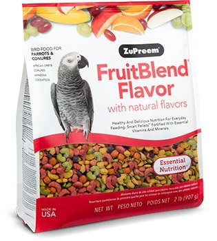 ZUPREEM ZuPreem FruitBlend Food for Parrot & Conures 3.5lb Product Image