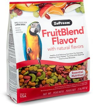 ZUPREEM ZuPreem FruitBlend Food for Large Birds 2lb Product Image