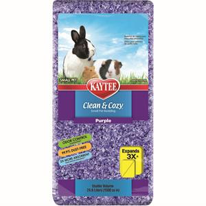 Kaytee Kaytee Bedding Clean and Cozy Purple 24.6 Liter Product Image