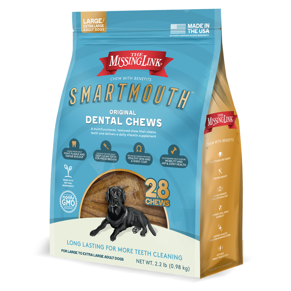 Missing Link Missing Link Smartmouth Dental Chew 28ct L/XL Product Image