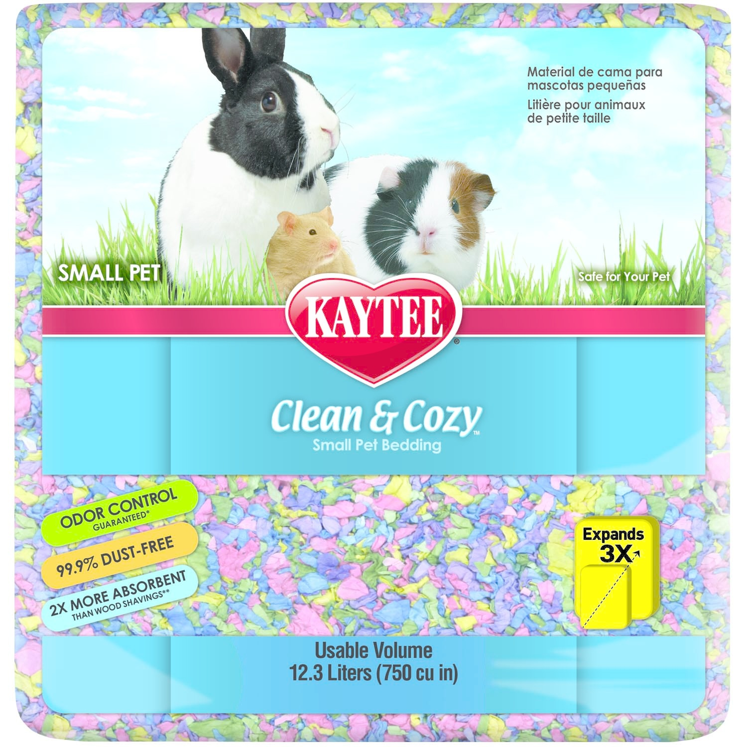Kaytee Kaytee Bedding Clean and Cozy Birthday Cake 12.3 Liter Product Image
