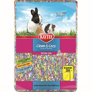 Kaytee Kaytee Bedding Clean and Cozy Birthday Cake 49.2 Liter Product Image
