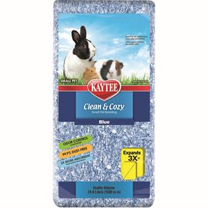 Kaytee Kaytee Bedding Clean & Cozy Blue 24.6 Liter Product Image