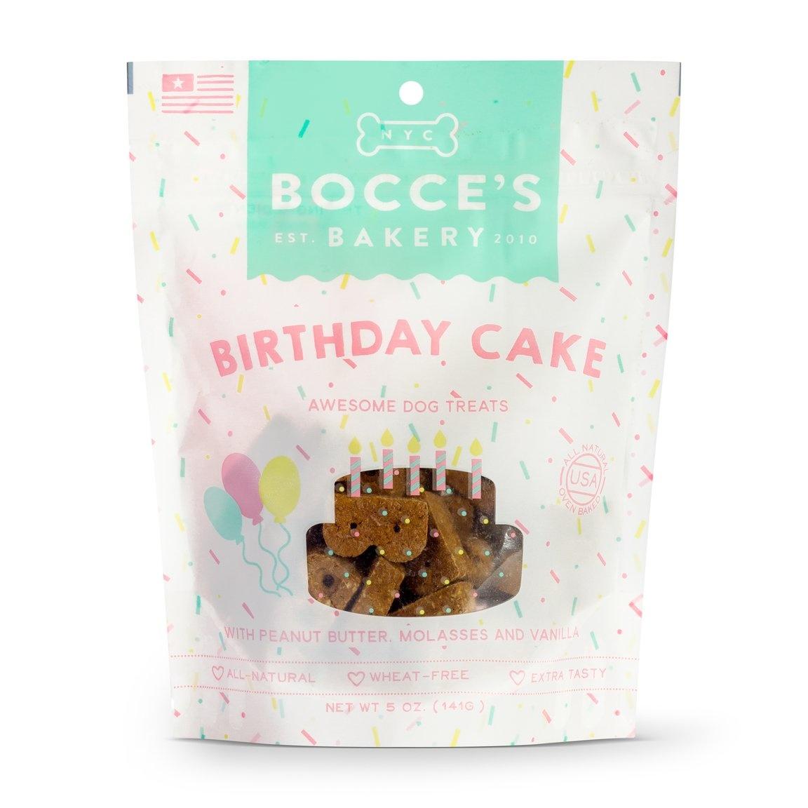 Bocce's Bakery Bocce's Bakery Seasonal Birthday Cake 5 oz Bag Product Image