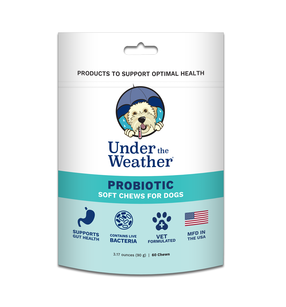 Under the Weather Under the Weather Probiotic Soft Chews for Dogs 60 Count Product Image