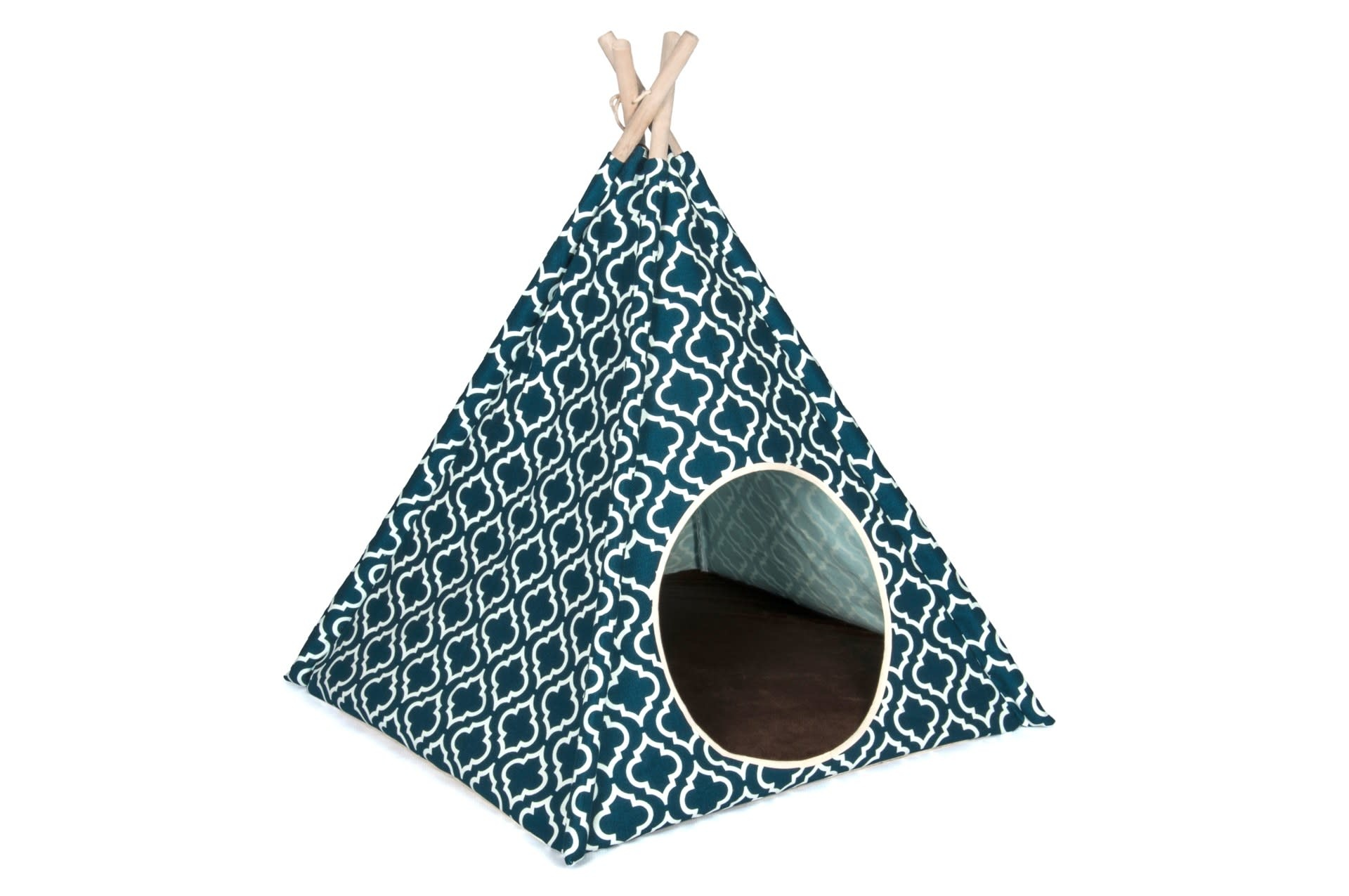P.L.A.Y. Pet Moroccan Navy Teepee Tent Product Image