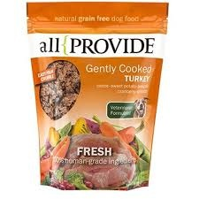 All Provide All Provide Frozen Gently Cooked Turkey Dog Food 2 lb Product Image