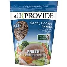 All Provide All Provide Frozen Gently Cooked Chicken Dog Food 2 lb. Product Image