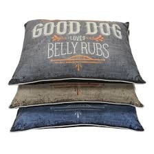 """DALLAS MANUFACTURING COMPANY DMC """"Good Dog...Belly Rub"""" Bed Product Image"""