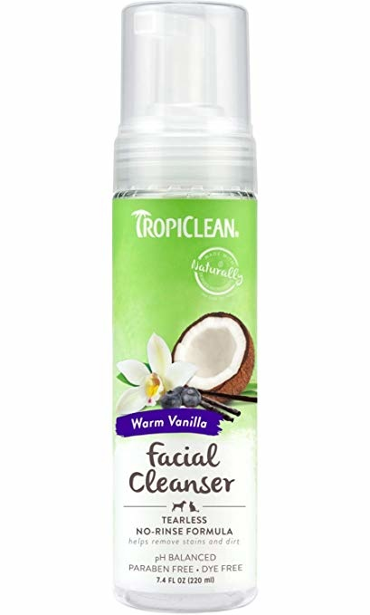 Tropiclean Tropiclean Waterless Facial Cleanser Tearless 7.4 oz Product Image
