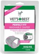 Bramton Vets Best Perfect Fit Washable Female Diaper Navy XXS / XS Product Image