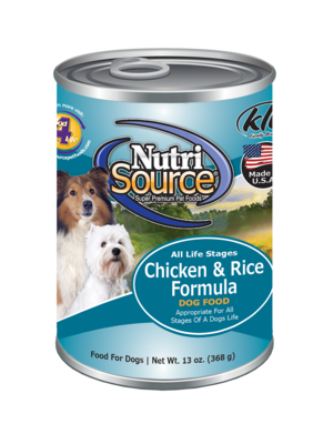 Nutrisource Nutrisource Chicken and Rice Can 13oz Product Image