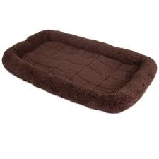 PRECISION PET PRODUCTS INC Snoozy Brown Crate Mat Large Product Image