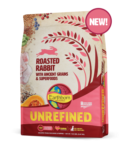 Earthborn Holistic Earthborn Unrefined Rabbit w/ Ancient Grain 4lbs Product Image