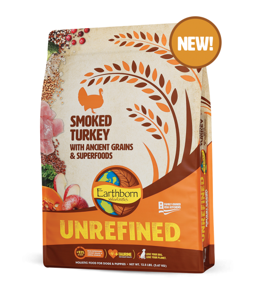Earthborn Holistic Earthborn Unrefined Turkey w/ Ancient Grain 12.5lbs Product Image