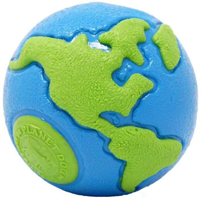 Planet Dog Orbee Globe Blue/Green Large Product Image