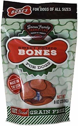 Gaines Family Farmstead Gaines Family Sweet Potato Bones 8OZ Product Image