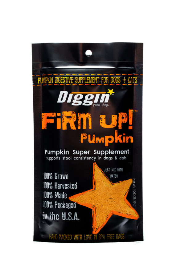 Diggin' Your Dog Diggin' Your Dog Pumpkin Flakes Firm Up! Anti Diarrheal 4 oz Product Image