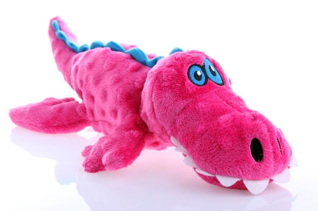 GoDog GoDog Toy Gators Pink Small Product Image