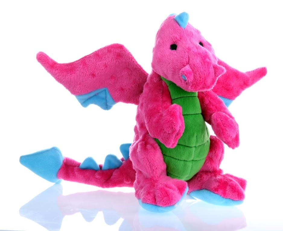 GoDog GoDog Toy Dragon Pink Large Product Image