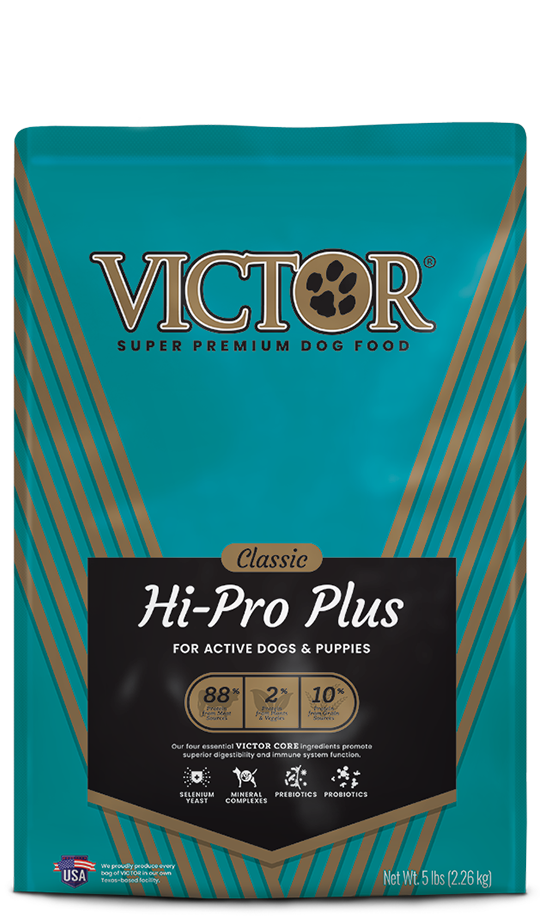 Victor Victor Hi-Pro Plus for Active Dogs & Puppies 15lbs Product Image