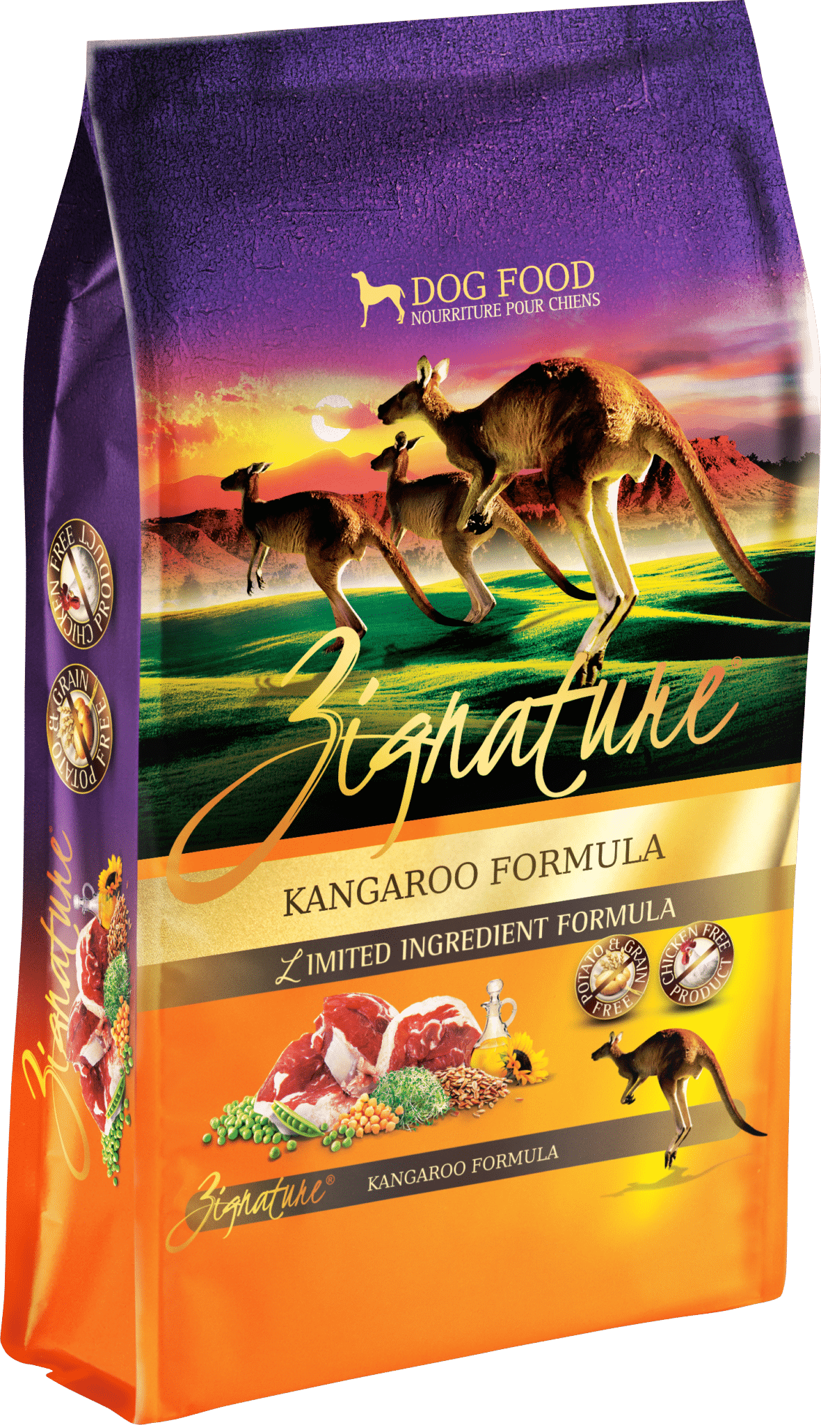 Zignature Zignature Kangaroo Limited Ingredient Formula Dog Food 13.5lbs Product Image