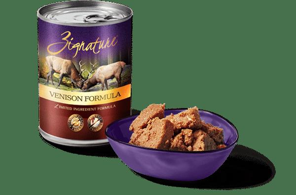 Zignature Zignature Venison Limited Ingredient Formula Dog Can 13oz Product Image