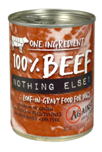 Evanger's Against the Grain 100% Beef Nothing Else! Dog Can 11oz Product Image