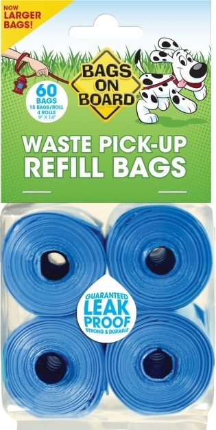 Bramton Bags on Board Refill 60 Bag (4 Roll Pack ) Product Image