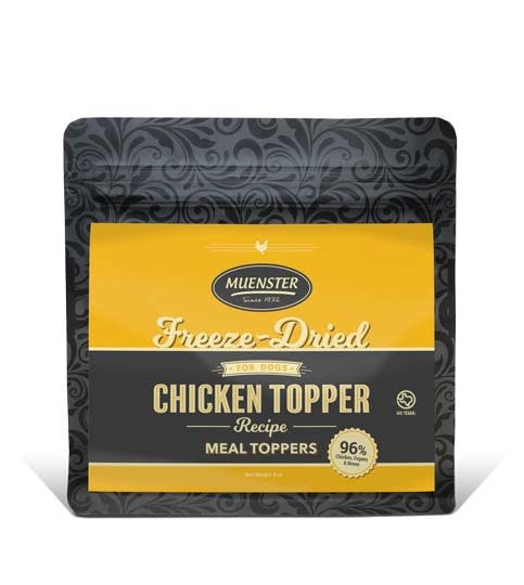 Muenster Milling Co. Muenster Freeze-Dried Chicken Meal Topper 8oz Product Image
