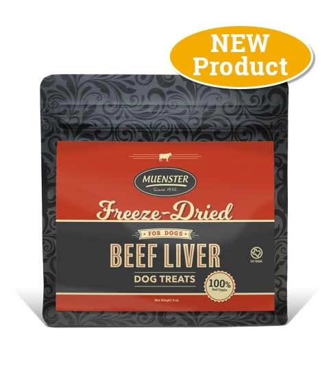 Muenster Milling Co. Muenster Freeze-Dried Beef Liver Treat 5oz Product Image